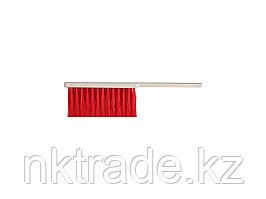 Щетка-сметка, искусственная щетина, трехрядная, пластмассовый корпус, 315мм39022