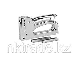 """Степлер для скоб """"TX-10"""" 4-в-1: тип 53 (6-10 мм) / 140 (6-10 мм) / 53F (6-10 мм) / 13 (6-10 мм), ЗУБР"""