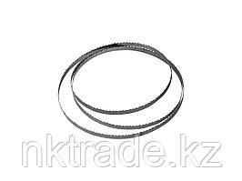 Полотно ЗУБР для ленточной пилы ЗПЛ-750-305, L-2234мм, H-10,0мм, шаг зуба-4мм (6TPI), материал: углерод сталь-65Г 155815-305-4