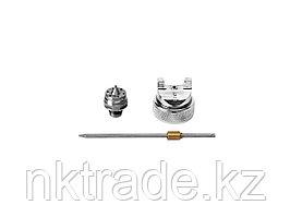 Комплект сменный KRAFTOOL к краскораспылителям, арт. 06563: дюза, воздушная головка, игла, 1,4мм 06563-S-1.4