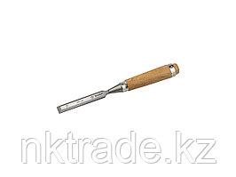 """Стамеска-долото ЗУБР """"ЭКСПЕРТ"""" с деревянной ручкой, хромованадиевая, 18мм 18096-18"""