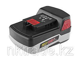 Батарея ЗУБР аккумуляторная для дрелей-шуруповертов, 1,7А/ч, 18,0В