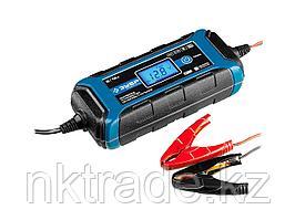 """Зарядное устройство ЗУБР """"ПРОФЕССИОНАЛ"""", 6В/12В, 4А, автомат, IP65, AGM, GEL, WET 59300"""