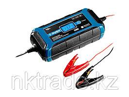 """Зарядное устройство ЗУБР """"ПРОФЕССИОНАЛ"""", 12В, 8А, автомат, IP65, AGM, GEL, WET 59303"""