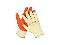 """Перчатки STAYER """"EXPERT"""" рабочие с рельефным латексным покрытием, 10 класс, S-M 11407-S"""