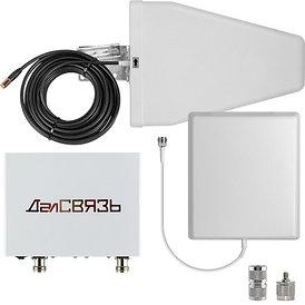 Комплект усиления сотовой связи ДалСВЯЗЬ DS-2100/2600-17C2