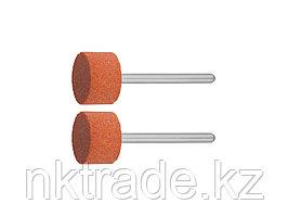 Круг ЗУБР абразивный шлифовальный на шпильке, P 120, d 15,0x10,0х3,2мм, L 45мм, 2шт 35910