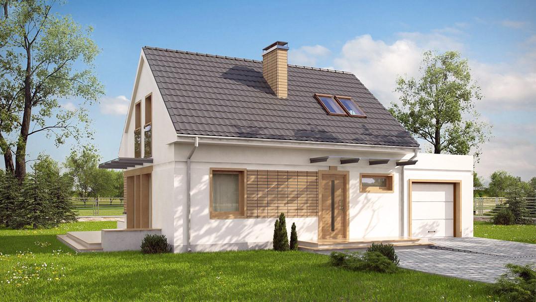 Строительство дома «под ключ» по проекту «Рея»