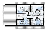 Строительство дома «под ключ» по проекту «Рея», фото 3