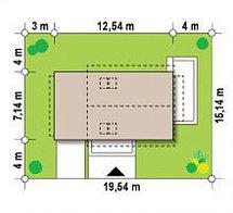 Строительство дома «под ключ» по проекту «Рея», фото 2