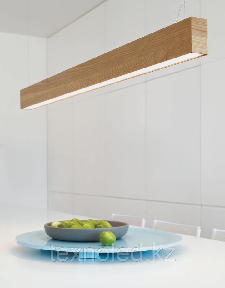 Дизайнерский светильник  дерево Дуб