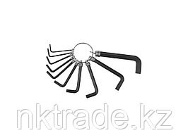 Набор ключей имбусовых DEXX 1,5-8 мм, 10 шт 27403-H10