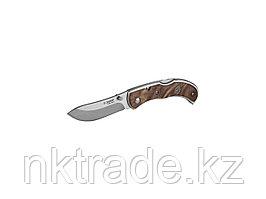 """Нож ЗУБР """"ПРЕМИУМ"""" СКИФ складной, эргономичная рукоятка с деревянными накладками,180мм/лезвие 75мм 47712"""
