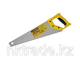 """Ножовка универсальная (пила) """"Тайга-7"""", 400мм,7TPI, закаленный зуб, рез вдоль и поперек волокон,"""