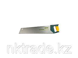 """Ножовка KRAFTOOL """"ALLROUNDER"""", 3-х гранный, закал зуб, покрытие Protecflon, двухкомп пластик ручка, 11/12 TPI,"""