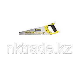 Ножовка универсальная (пила) STAYER SuperCu 450 мм, 7 TPI, 3D зуб, рез вдоль и поперек волокон, для средних
