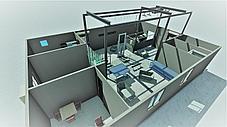 Модульный убойный цех 10 КРС/50 МРС в день, с холодильной камерой, фото 2