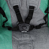 Коляска-трость для двойни BamBola Pallino Серый/Ментол, фото 7