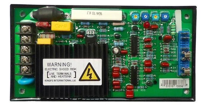 Высокая производительность бесщеточный AVR Автоматический регулятор напряжения схема GAVR-10A, фото 2