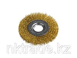 Щетка-крацовка дисковая для УШМ, STAYER, PROFESSIONAL, 35122-100