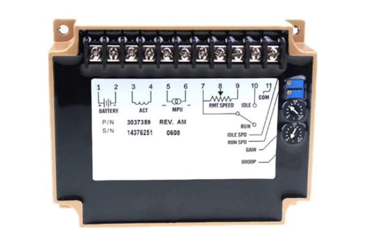 24 В дизель-генератор регулятор скорости 3037359 для скорость привода