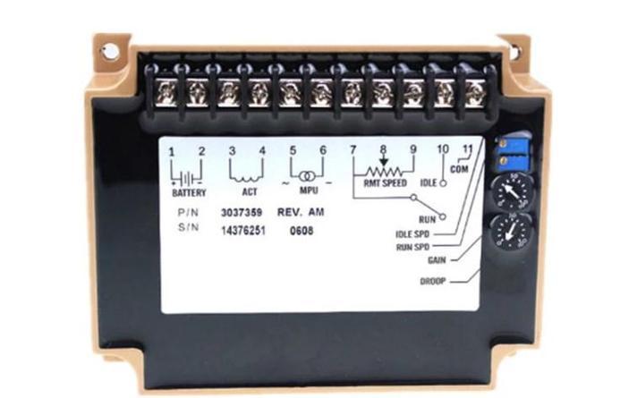 24 В дизель-генератор регулятор скорости 3037359 для скорость привода, фото 2
