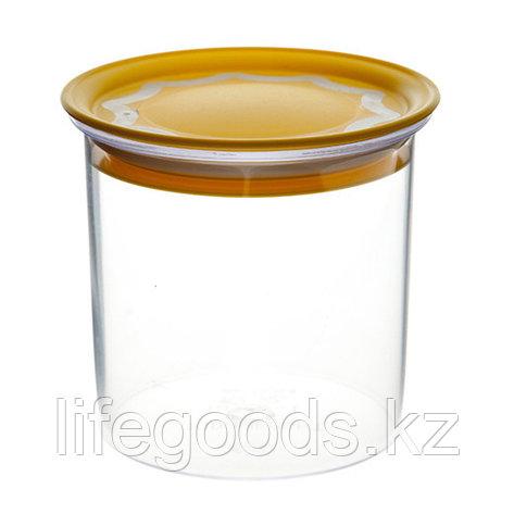 Банка с вакуумной крышкой 0,6л для сыпучих продуктов, фото 2