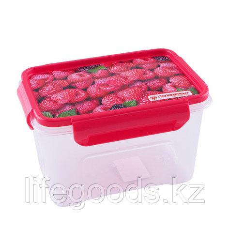 """Малина"" контейнер для СВЧ 1,1л, фото 2"
