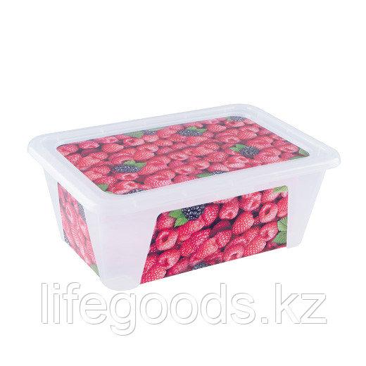 """""""Малина"""" контейнер прямоугольный 1,65л"""
