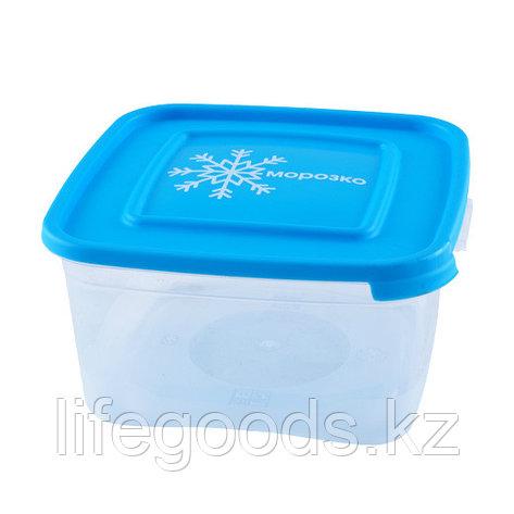 """""""Морозко"""" комплект контейнеров(3шт) для замораживания продуктов 1.0л квадратный, фото 2"""