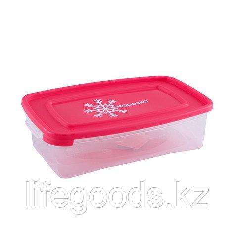 """""""Морозко"""" контейнер для замораживания продуктов 0.7л прямоугольный, фото 2"""
