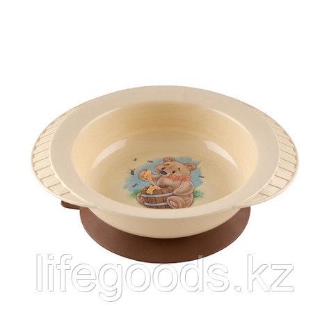 """""""Polly"""" тарелка детская на присосе, фото 2"""