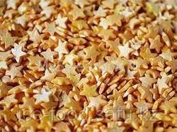 Звезды золотые сахарные, 1 кг