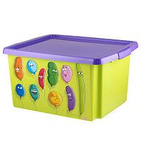 Ящик для игрушек с рисунком 30л 470х365х245