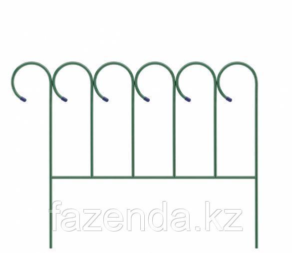Заборчик Садово-парковый «Барашек» 0,7х0,9м, Клевер-С