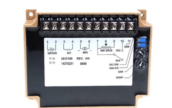 24 В дизель-генератор регулятор скорости 3037359 для скорость привод, фото 2