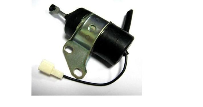 Стоп электромагнитный 16851-60014 16851-60010 Для двигатель kubota, фото 2