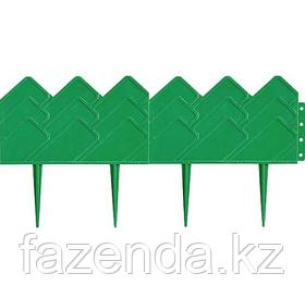 """Бордюр форма """"Кантри"""", 14 х 310 см, зеленый"""