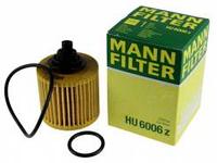 Масленый фильтр mann 6006 z элемент