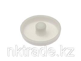 Заглушка под рамный дюбель, цвет белый, 25шт, ЗУБР 4-308136-3