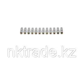 Колодки зажимные винтовые (КЗВ), макс. ток 15А, сечение подкл. проводов 12мм2  49150-12