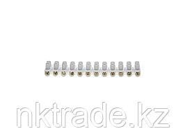 Колодки зажимные винтовые (КЗВ), макс. ток 20А, сечение подкл. проводов 14мм2  49150-14