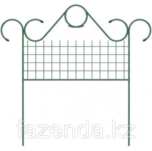 Заборчик Садово-парковый «Классический» 0,7х0,9м, Клевер-С, 5 секций