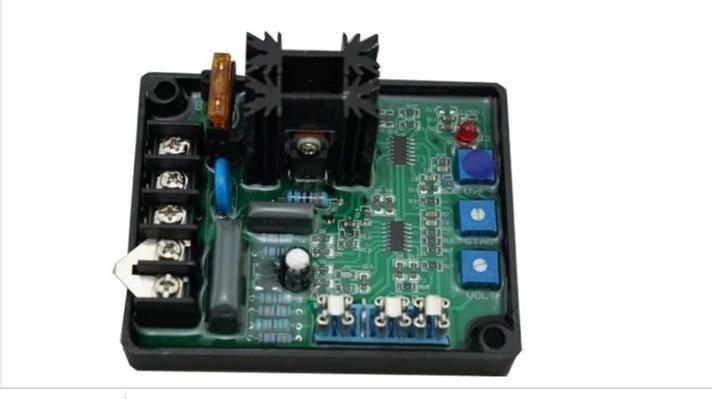 GAVR 8A Универсальный ac напряжение регулятор avr для Вт 20-100 вт генератор, фото 2