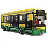 """Конструктор аналог Лего LEPIN 02078 """"Автобусная остановка"""" 377 деталей аналог LEGO 60154, фото 3"""