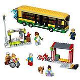 """Конструктор аналог Лего LEPIN 02078 """"Автобусная остановка"""" 377 деталей аналог LEGO 60154, фото 4"""
