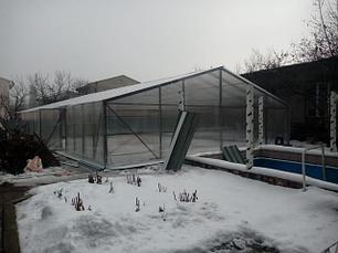Теплица промышленная для дома дачи огородников