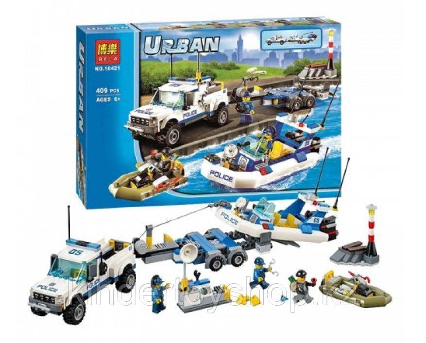 Конструктор Bela 10421 «Полицейский патруль» аналог Lego City 60045