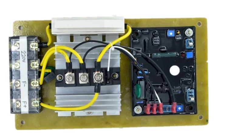 POPULACE общий GAVR-100A бесщеточный AVR Автоматический регулятор напряжения