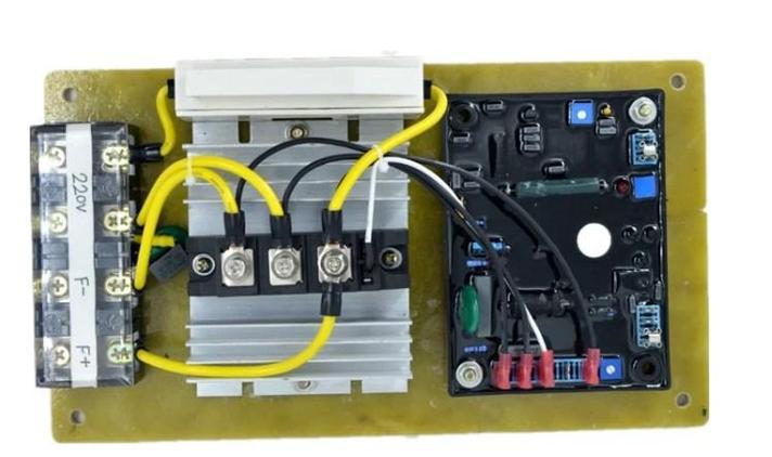 POPULACE общий GAVR-100A бесщеточный AVR Автоматический регулятор напряжения, фото 2